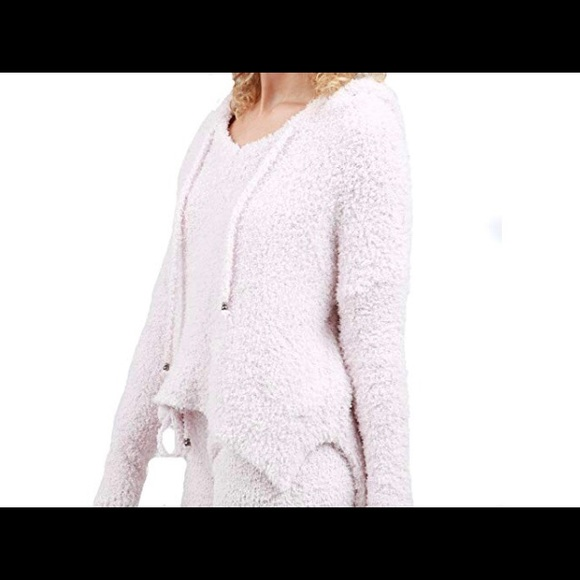 Women s POL Fuzzy and Soft Pullover Hoodie b43f35c0e